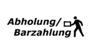 Barzahlung / Abholung